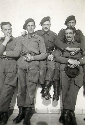 Members of 4th Parachute Bn, Athens, January 1945.