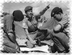 PR photo taken in Anguilla John Dingwall D Coy 11 platoon Sergeant