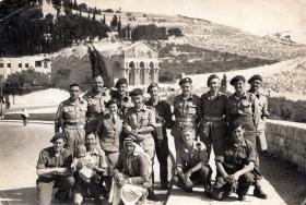 Members of 398 (Airborne) Composite Company RASC, Jerusalem, Thursday 18 April 1946.