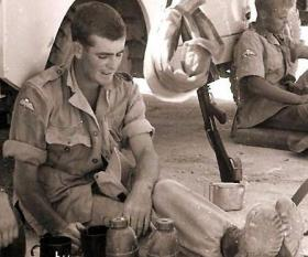 Pte Jim Gallagher, Cyprus, 1964.