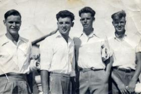 Members of 3 PARA, c1955.