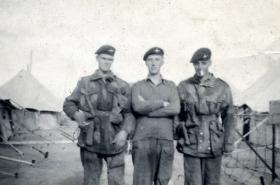 Members of 3 PARA, Egypt, c1955.