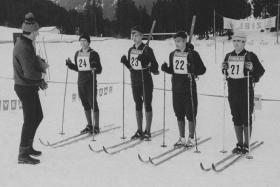 Junior Leaders Regiment RAC Skiing Team 1972