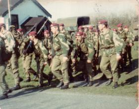 Members of 16 Lincoln Coy, 1970s