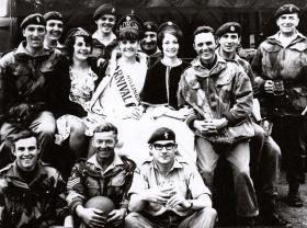 Members of 562 Para Sqdn RCT (V) and REME, date unknown.