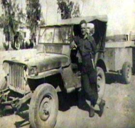 Pte John H Park, Athens, c1944.