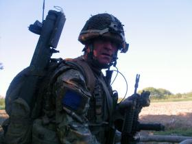 CSM Paul Johnston on Op Herrick XIII