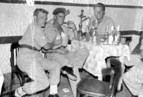 Members of B Coy 2 PARA, Jordan, 1958.