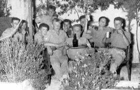 Members of B Company, 2 PARA, Jordan, 1958.