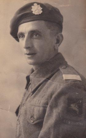 Private Joseph Smethurst, c1944