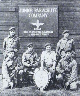 Junior Parachute Coy Rifle Team 1963