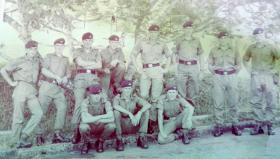 2 PARA, Jungle Warfare School in Malaysia, 1968.