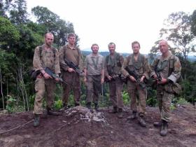 Jungle Warfare School, Ulu Tutong,  Brunei, 2014.