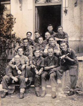 Members of 6th Parachute Battalion Kalamaki Greece 1944