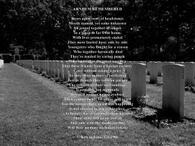 Arnhem Remembered, By Kevin Jones, February 1986.