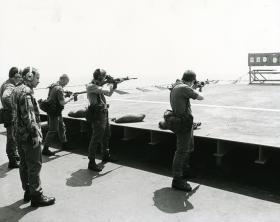 Assault Engineer Platoon, 2 Para. M.V. Norland. 1982