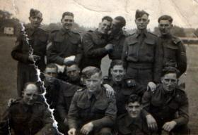 Kenneth Roberts in small group photograph