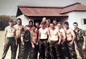 3 Platoon, A Company, 2 PARA, Kenya, 1981.