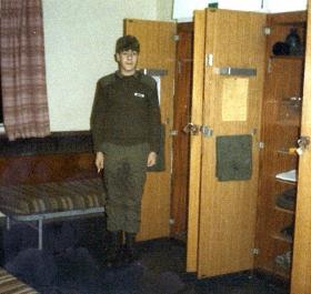 Matthew Kindred, Junior Para Coy, Pirbright, 1987.