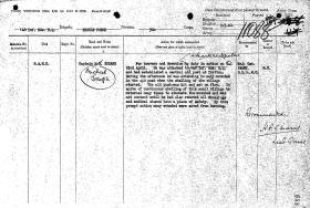 Citation for Captain Michael J Kohane, Norway, 1940