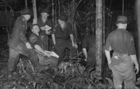 O Group in the jungle, near Kota Tinggi, members of 16 Lincoln Coy on Annual Camp Malaya 1962