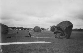 Members of 16 Lincoln Coy landing at Kauntan, Malaya, 1962