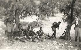 Members of 1 Para above Kyrenia, 1951