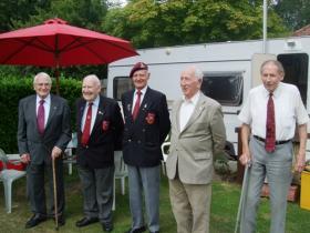 5 Arnhem veterans, 14 August 2011.