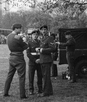 Members of 1 Para Provost Pln RMP (V), 1970s.