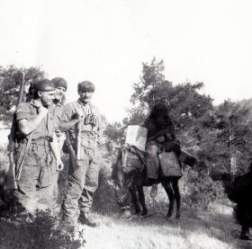 Members of 1 PARA, Cyprus, c1956.