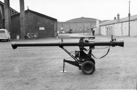 L6 Wombat Recoilless Rifle, taking part in AATDC trials, 1959.
