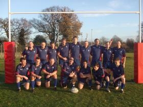 144 Para Med Sqn Rugby Team, Lambert Cup Winners 2007