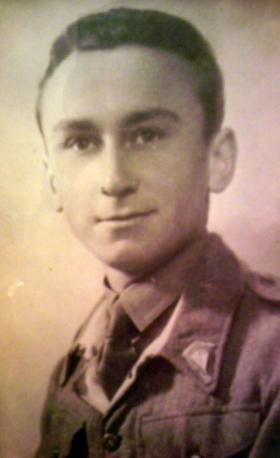 L/Cpl Henryk Ciesielski, 1st Polish Independent Parachute Brigade, date unknown.