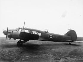 An Anson Mk X during World War II