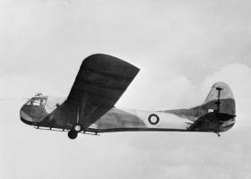 A Hadrian glider under tow c1943