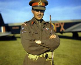 Lt Gen Browning, GCVO, KBE, CB, DSO at Netheravon, October 1942.