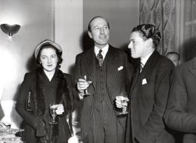 Mrs Lathbury, General Lathbury and J. Halliwell