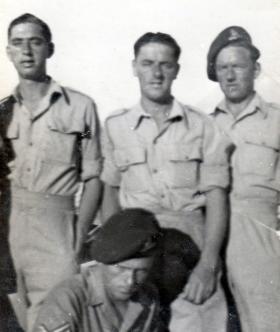 Members of 211 Airlanding Light Battery RA. 1946.