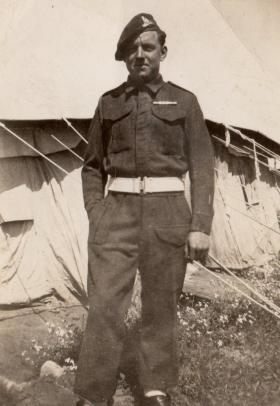 Gunner Percy Lemon, Palestine, 1946.