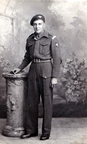 Private Samuel Liddell, date unknown.