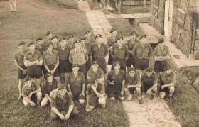 Members of 16 Lincoln Coy at Nee Soon Barracks, Singapore, 1962