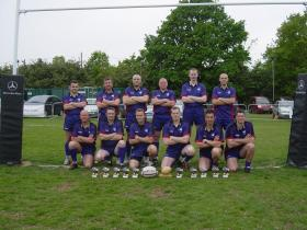 144 Para Med Sqn Rugby Team, London District 7s winners 2007
