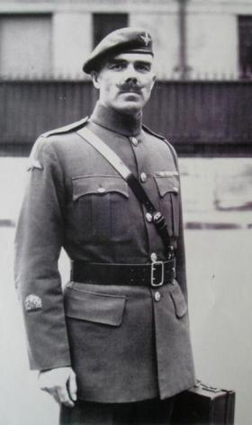 Solo photograph of RSM JC Lord, undated.