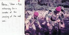 Members of 10 PARA on adventure training in the Lake District, August 1978.