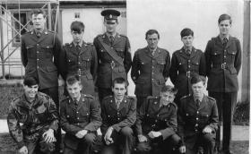 Lowe Patrol, Army Outward Bound School, Towyn, Wales, Easter 1967.