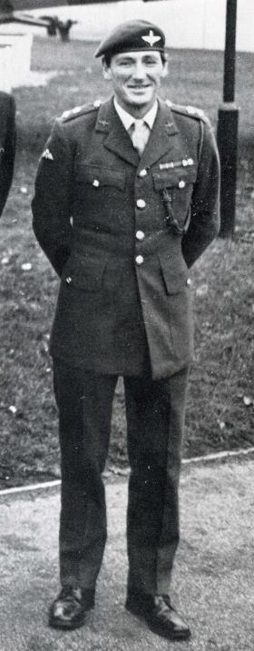 Lt Col H Jones, CO 2 PARA, Para Depot, Aldershot, February 1982.