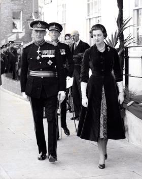 Lt-Gen EE Down, London, c1950s