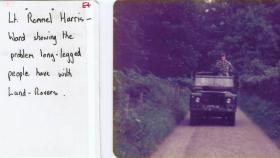 Lt Harris-Ward, 10 PARA, on adventure training in the Lake District,1978.