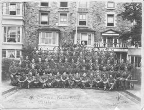 Lt Shane Kearney - Officer Course 1944