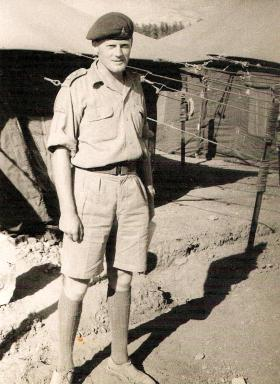 Lt Rufus Lyon-Wilson, Command Post Officer 96 Battery, Cyprus 1956